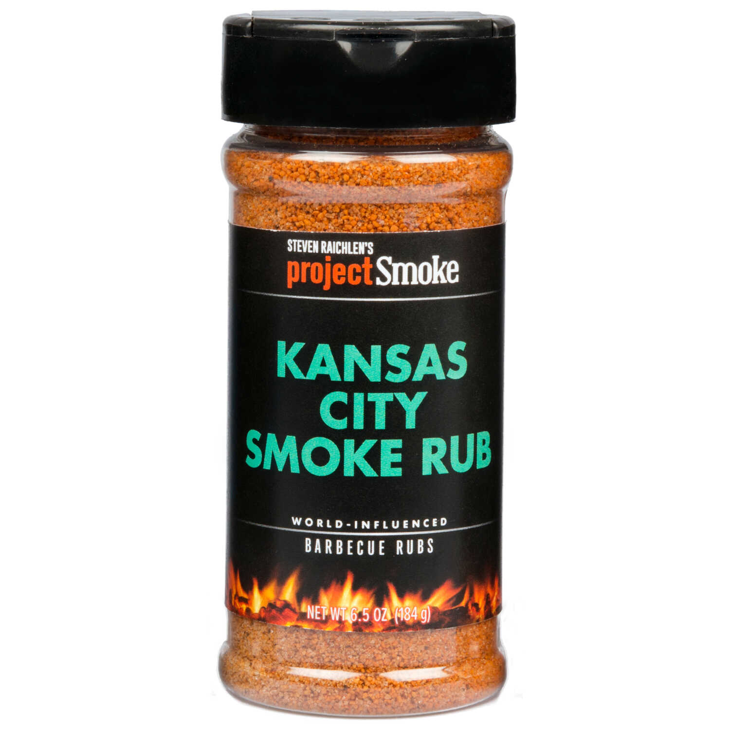 Steven Raichlen Project Smoke  Kansas City Smoke  BBQ Rub  6.5 oz.