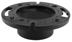 Sioux Chief ABS Open Closet Flange N/A in.