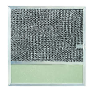 Broan  11-3/8 in. W Aluminum Replacement Range Hood Filter  Silver