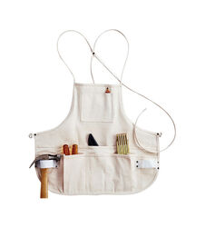 CLC  Heavy Duty 12 pocket Canvas  Tool Apron  White  1 pk
