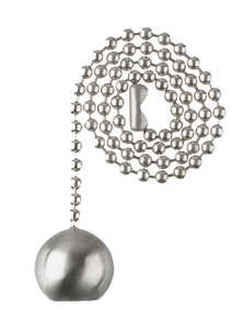Westinghouse  Brushed Nickel  Pull Chain  Nickel