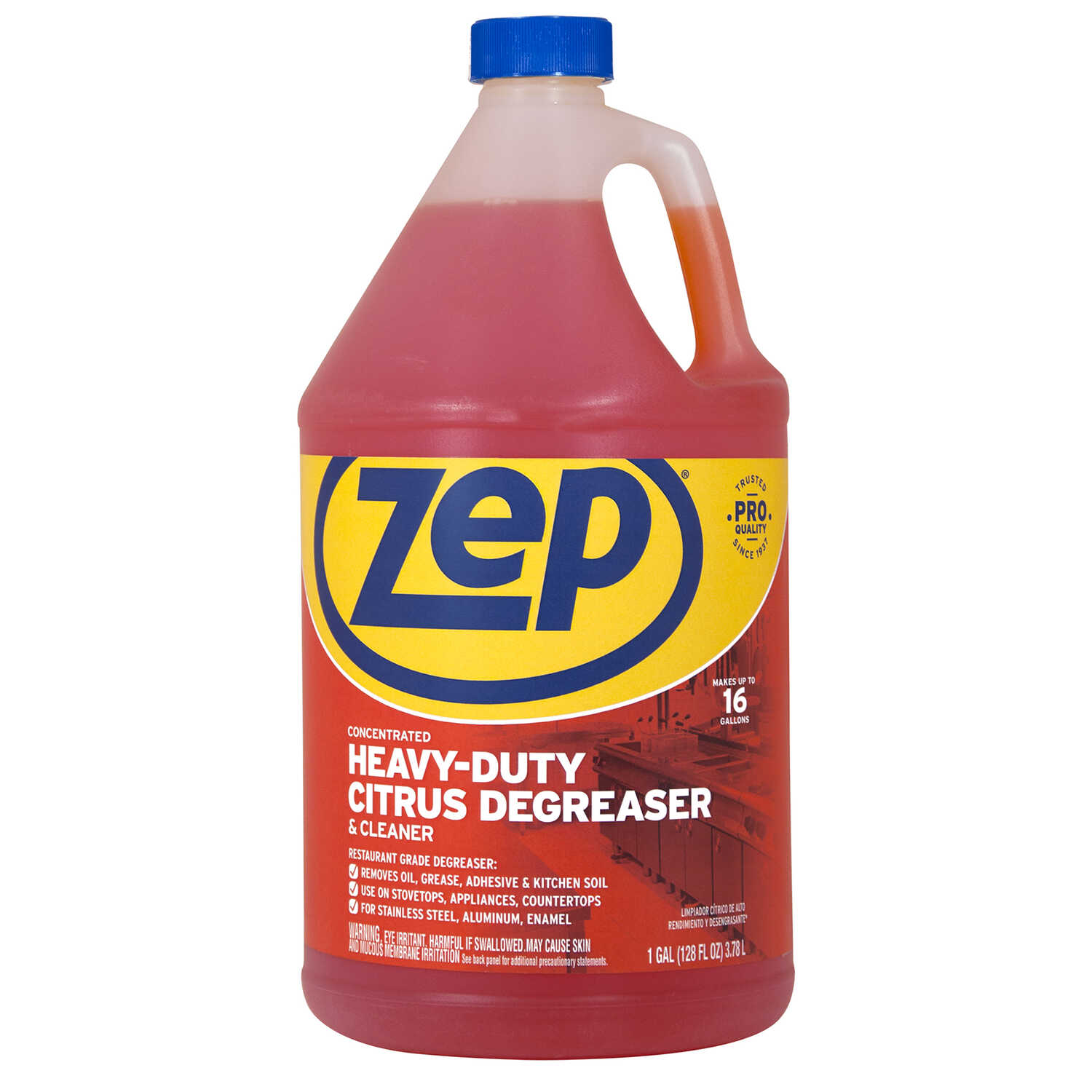 Zep  Citrus Scent Heavy Duty Degreaser  128 oz. Liquid