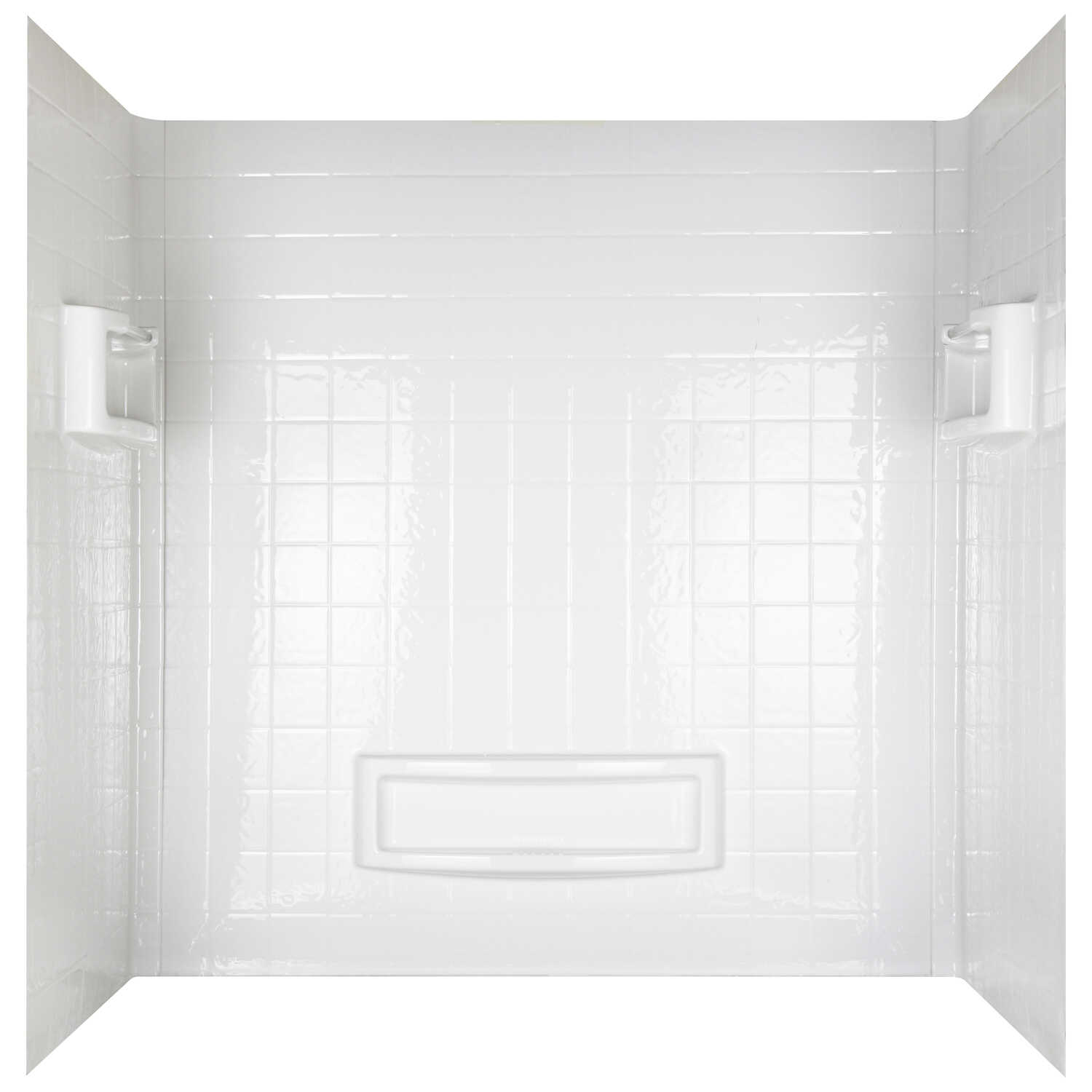 ASB  Distinction  Three Piece  Reversible  Rectangle  Bathtub Wall