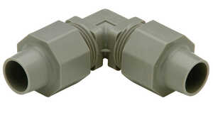 Zurn  3/4 in. CTS   x 3/4 in. Dia. CTS  Elbow  Polybutylene  90 deg.