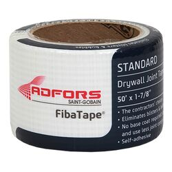 ADFORS FibaTape 50 ft. L x 1-7/8 in. W Fiberglass Mesh White Self Adhesive Drywall Joint Tape