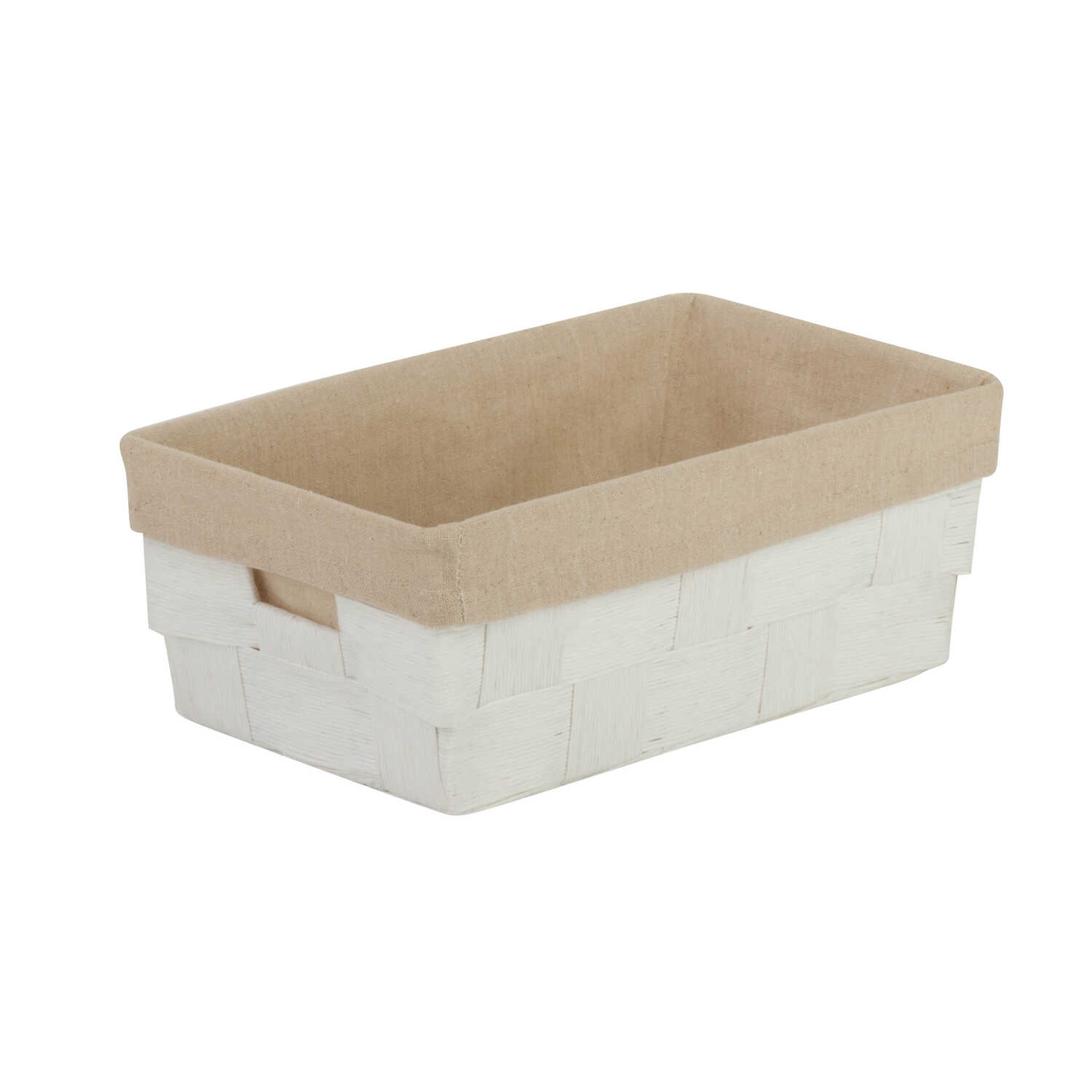 Honey Can Do  4-1/2 in. H x 7 in. W x 11.4 in. D Organizer Bin