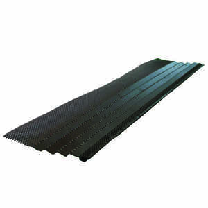 Amerimax  7 in. W x 36 in. L Brown  Steel  Gutter Guard