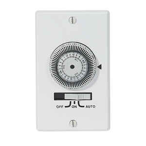 Intermatic  Indoor  Timer  120 volt White