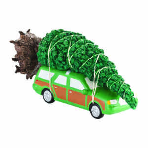 Department 56  Christmas Vacation Griswold Christmas Tree  Village Accessory  Multicolored  Porcelai