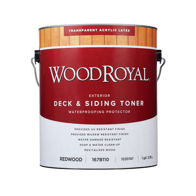 Ace  Transparent  Redwood  Acrylic Latex  Deck & Siding Toner  1 gal.