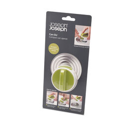 Joseph Joseph  Green/White  ABS/Stainless Steel  Manual  Can Opener