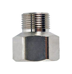 JMF 1/2 in. Female Compression Swivel x 3/8 in. Dia. Male Compression Brass Adapter