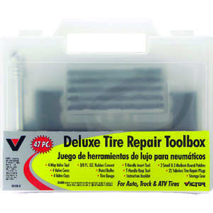 Victor  Tire Repair Toolbox  For Auto, Truck and ATV