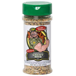 Code 3 Spices  Grunt Rub  Garlic Blend  BBQ Seasoning  6 oz.