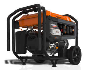 Generac  GP Series  6500 watts Black  Portable Generator
