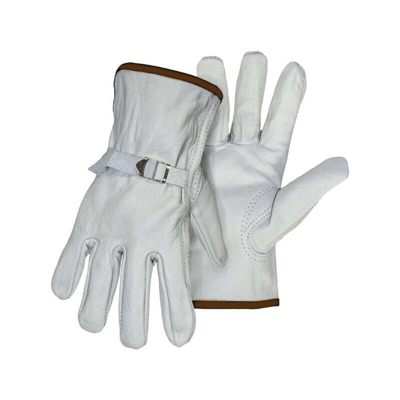 Boss Men's Indoor/Outdoor Driver Gloves Tan L 1 pair