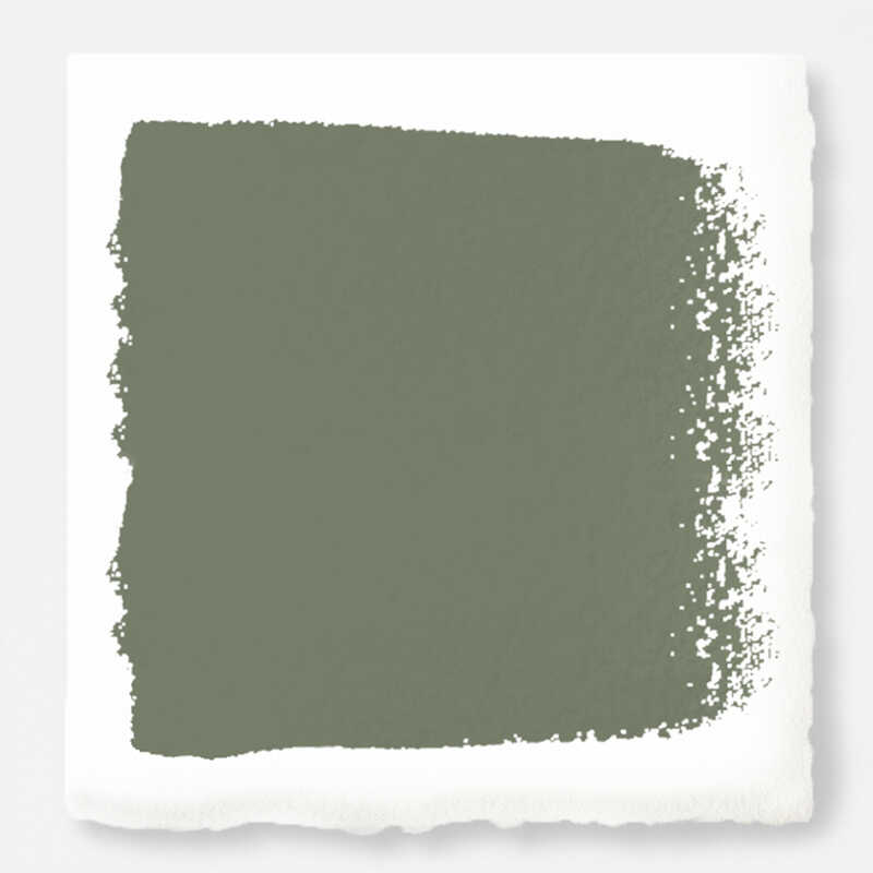 Magnolia Home  by Joanna Gaines  Eggshell  Bespoke Green  U  Acrylic  Paint  8 oz.