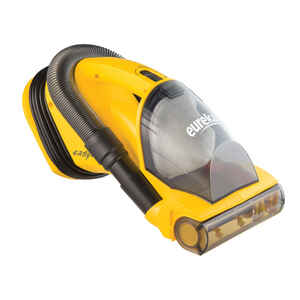 Eureka  Easy Clean  Bagless  Hand Vacuum  5.5 amps Filter Bag  Yellow