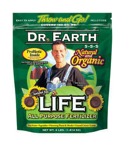 Dr. Earth  Life All Purpose  Granules  Organic Fertilizer  4 lb.