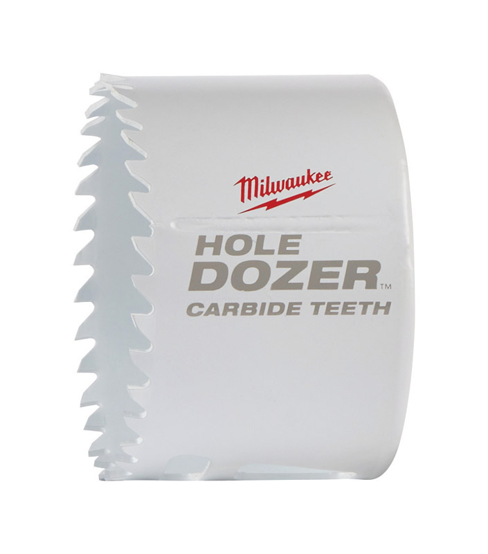 Milwaukee  Hole Dozer  3 in. Dia. x 1-7/8 in. L Carbide Tipped  Hole Saw  1 pc.