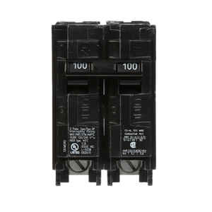 Siemens  HomeLine  100 amps Double Pole  2  Circuit Breaker