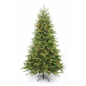 Greenfields  Clear  Prelit 9 ft. Sutherland  Artificial Tree  1000 lights 5,847 tips