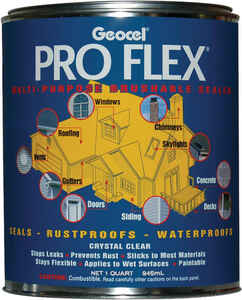 Geocel  Pro Flex  Clear  Acrylic  Sealant  32 oz.