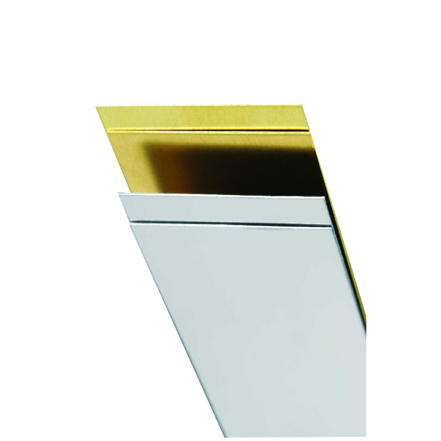 K&S  1 in. Stainless Steel  Strip