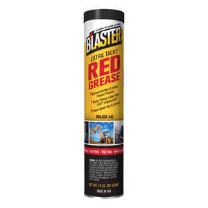 Blaster  Red Grease  14 oz. Cartridge