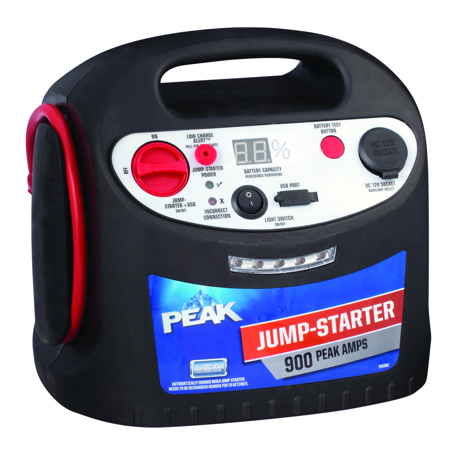 Peak  Automatic  12 volts 450 amps Battery Jump Starter