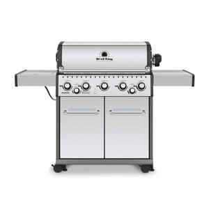 Broil King  Baron S590  Liquid Propane  Freestanding  Grill  Stainless Steel  5