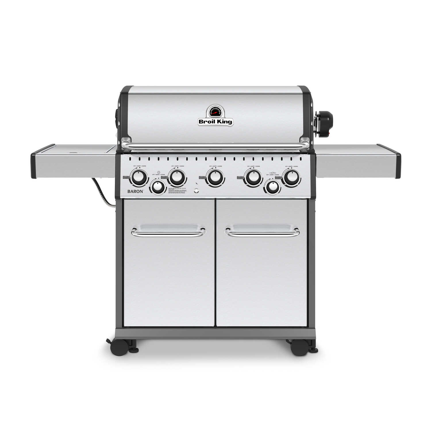 Broil King  Baron S590  5 burners Propane  Grill  Stainless Steel  50000 BTU