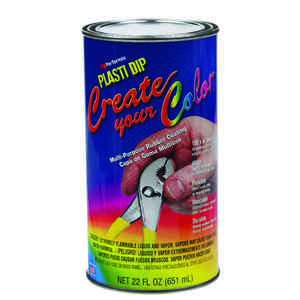 Plasti Dip  Flat/Matte  Clear  Multi-Purpose Rubber Coating  22 oz