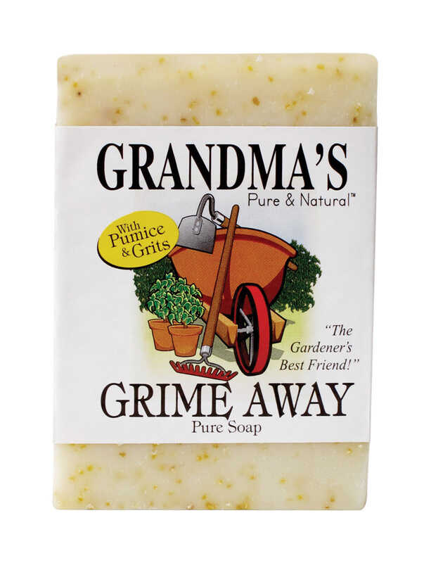 Grandma's  Grime Away  Light Almond Scent Bar Soap  4 ounce