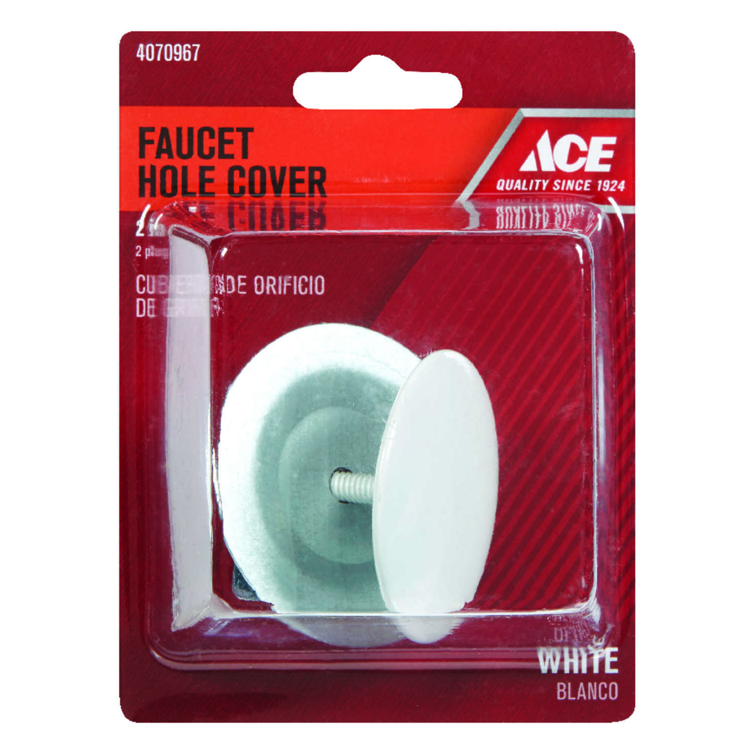 Ace  Metal  Faucet Hole Cover  2 in.