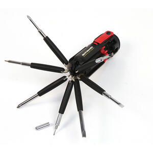 Apollo  Multi-Tool  Red  1 pc.