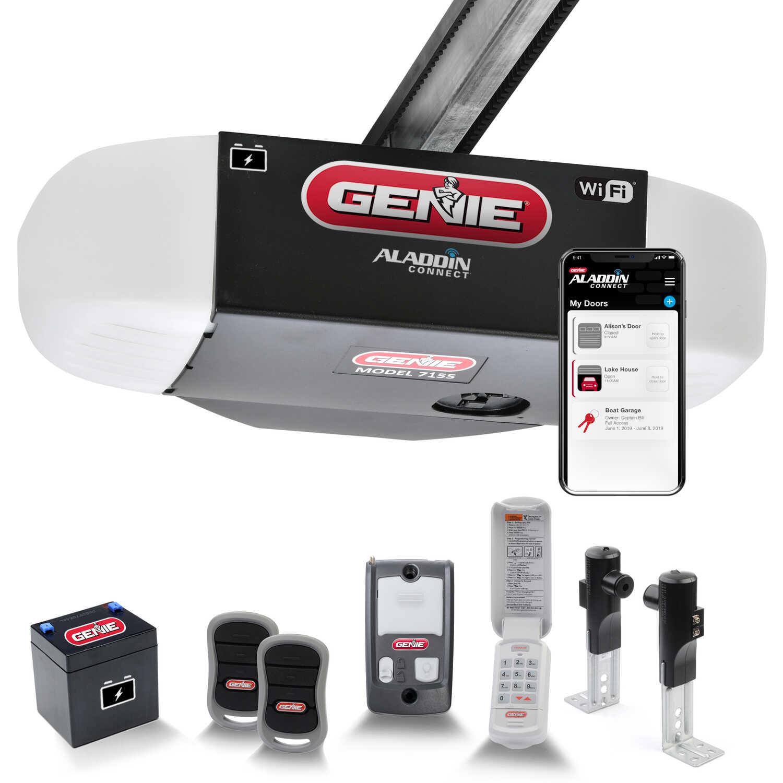 Genie Stealthdrive Connect 1 1 4 Hp Belt Drive Wifi