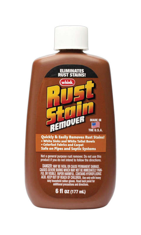 Rust-Oleum  Whink  No Scent Rust Stain Remover  6 oz. Liquid