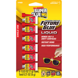 The Original Super Glue Corporation  High Strength  Cyanoacrylate  All Purpose Super Glue  6 pk