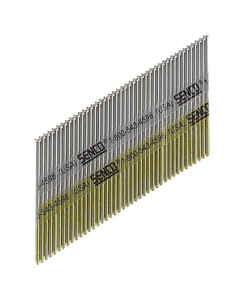 Senco  34 deg. 15 Ga. Smooth Shank  Angled Strip  Finish Nails  2-1/2 in. L x 0.07 in. Dia. 3,000 bo