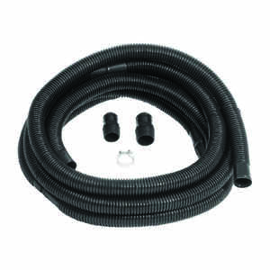 Wayne  1-1/4 to 1-1/2 in. Dia. x 1-1/2 in. Dia. x 96 ft. L Discharge Hose Kit  Plastic