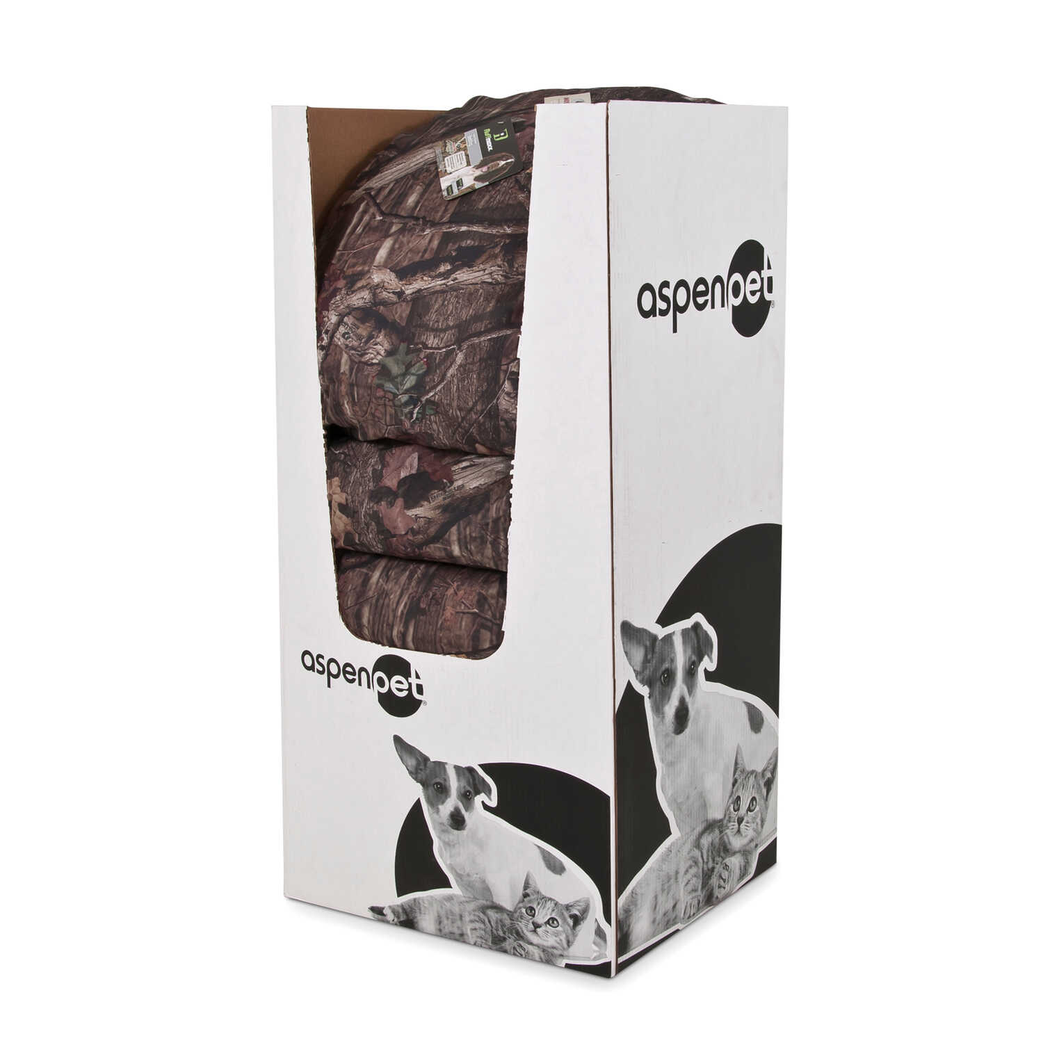 Mossy Oak  Rectangle  Pet Bed