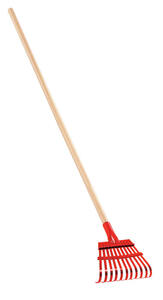 Corona  60.5 in. L x 7.5 in. W Steel  Shrub  Rake  Wood