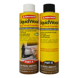 Abatron LiquidWood Clear Epoxy Wood Consolidant Kit 12 oz.