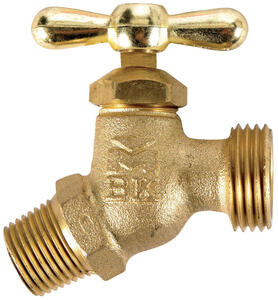 BK Products  Mueller  Brass  Faucet