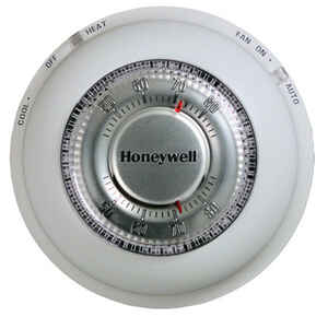 Honeywell  Heating and Cooling  Dial  Mechanical Thermostat