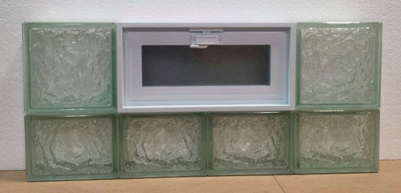Clear Choice  14 in. H x 32 in. W x 3 in. D Ice  Vented Panel