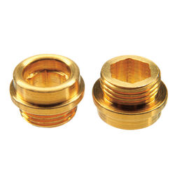 Danco  1/2 - 24 in. #7  Brass  Faucet Seat  Central  2 pk