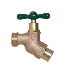 Arrowhead  Brass  4 in. Hose Bibb