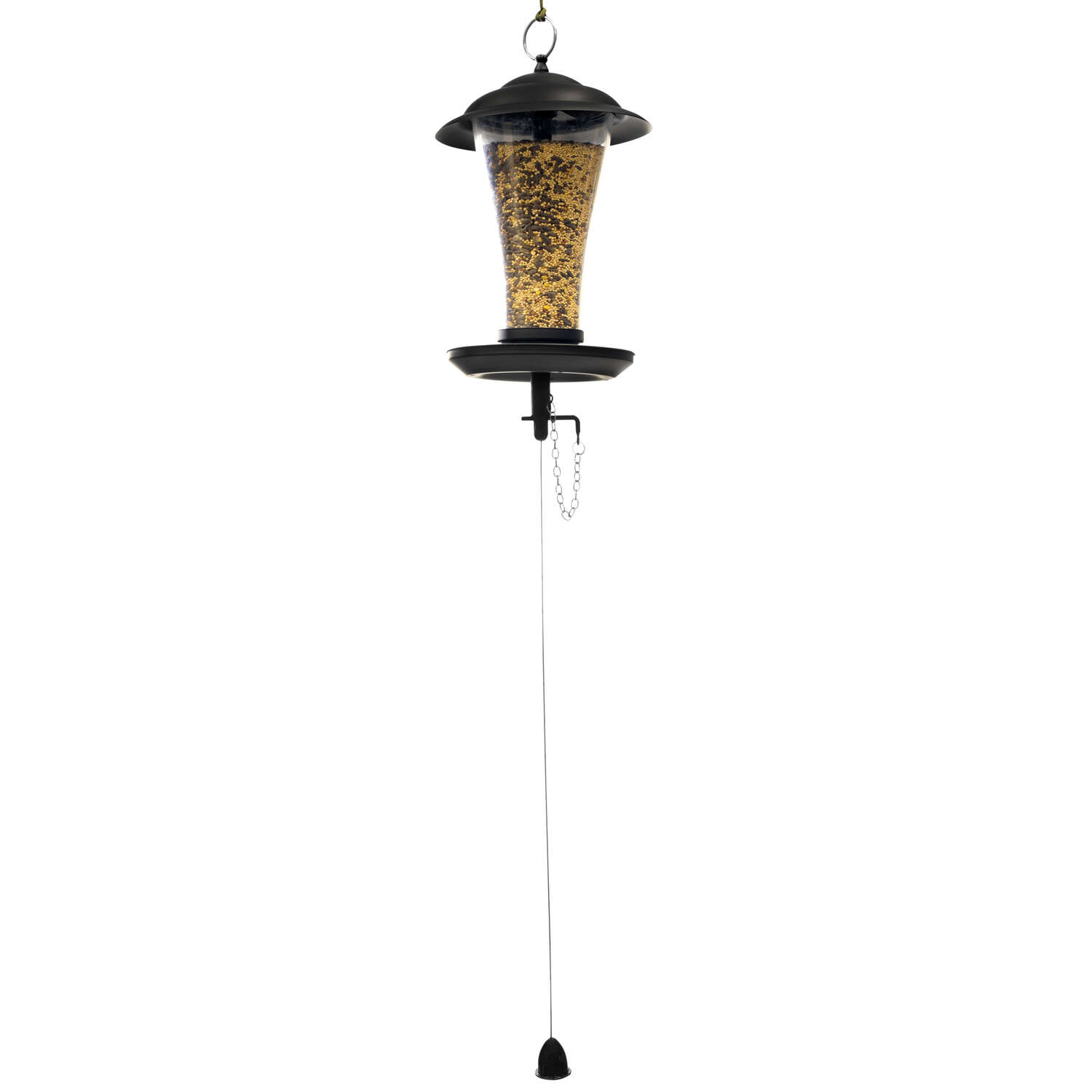 The Effortless Birdfeeder  3 lb. Plastic  Hanging  Bird Feeder